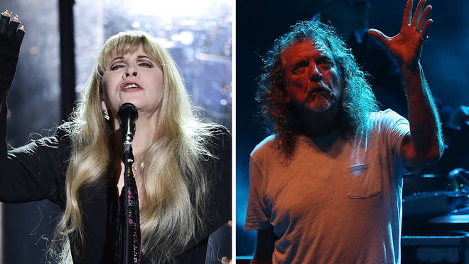 Fleetwood Mac's Stevie Nicks and Led Zeppelin's Robert Plant
