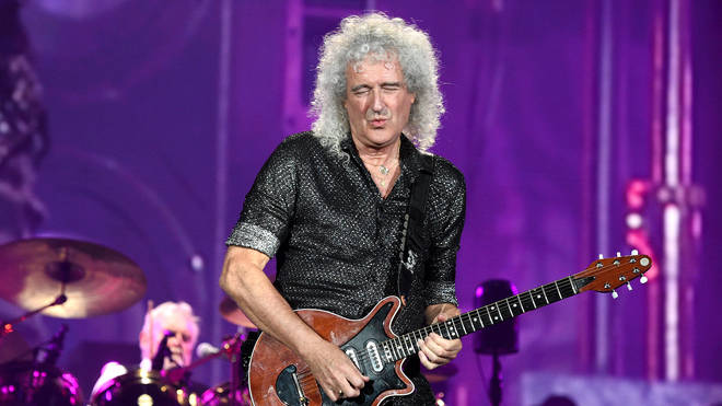Queen guitarist Brian May the 2019 Global Citizen Festival