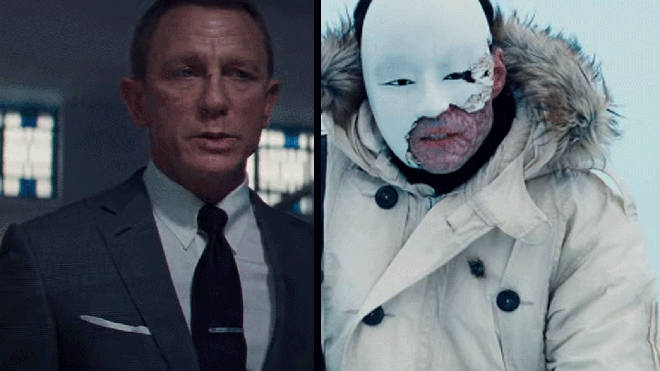 Daniel Craig and Rami Malek in the new James Bond: No Time To Die trailer
