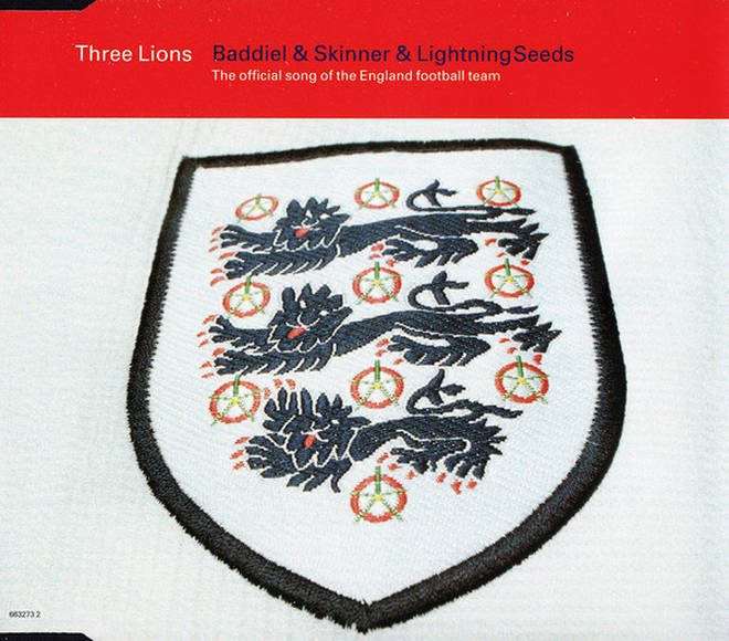 Three Lions single cover