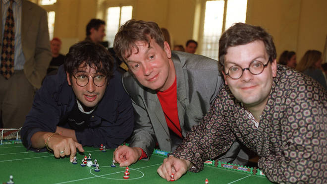 David Baddiel, Frank Skinner and Statto