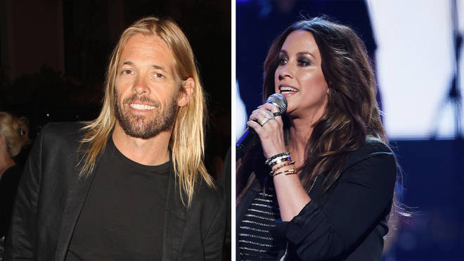 Foo Fighters' Taylor Hawkins and Alanis Morissette