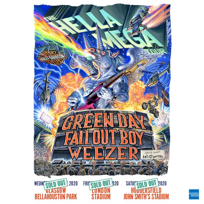 Hella Mega Tour Poster December 2019
