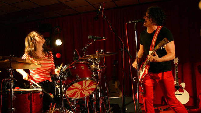 The White Stripes Perform At Icky Thump Records