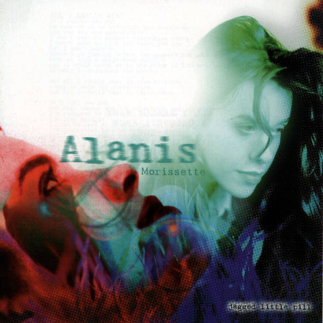 Alanis Morissette's Jagged Little Pill album artwork