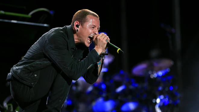 Linkin Park's Chester Bennington Rock In Rio USA 2015