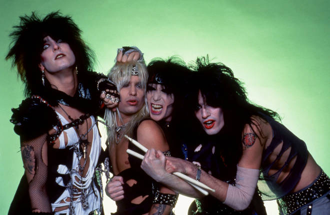 Motley Crue in March 1984