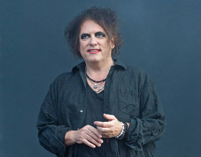 Robert Smith of The Cure onstage at Glasgow Summer Sessions, August 2019