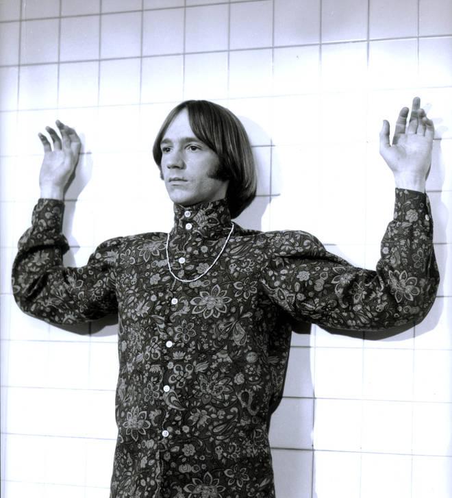 Peter Tork in The Monkees' movie Head, in 1968