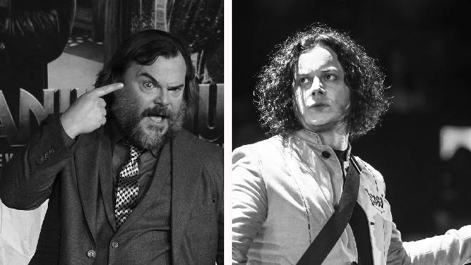 "Jack Black felt ""terror"" `about recording with Jack White"
