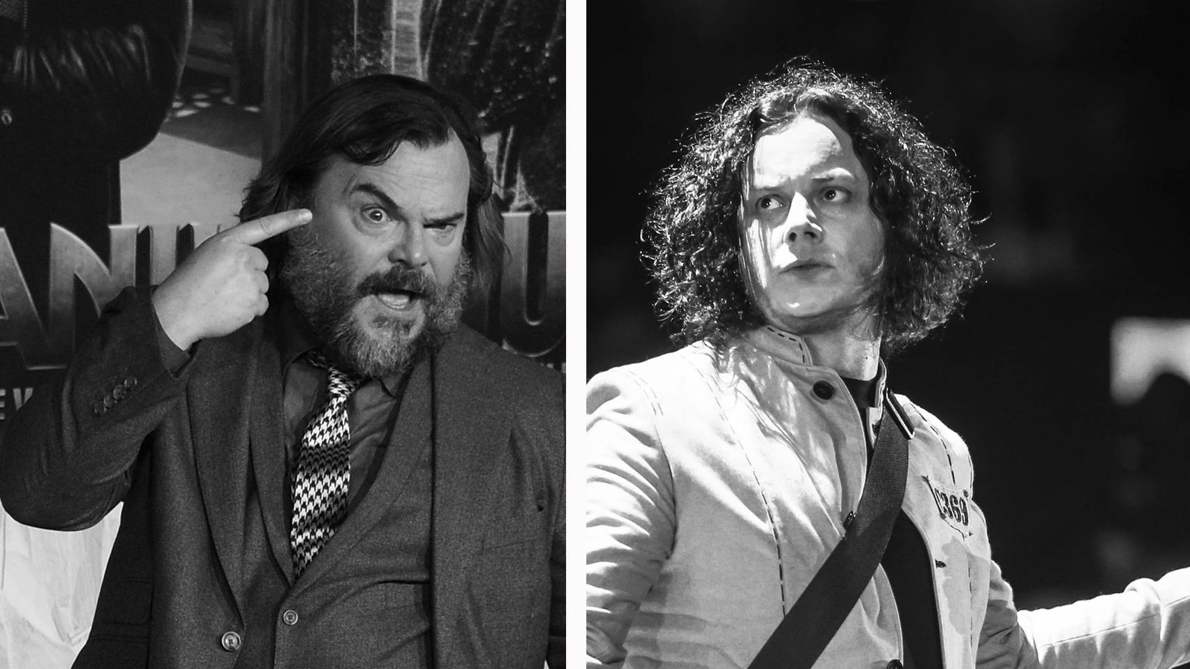 "WATCH: Jack Black reveals ""terror"" about finally recording with Jack White"