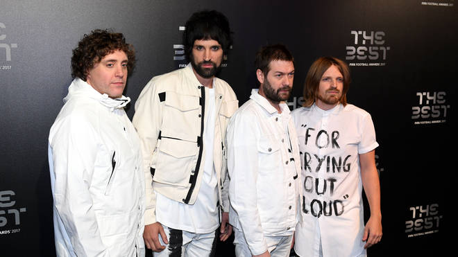 Kasabian at the FIFA Football Awards 2017