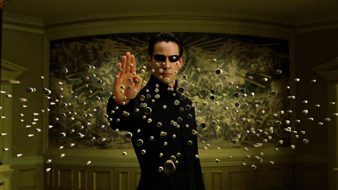 Keanu Reeves in The Matrix Reloaded in 2003