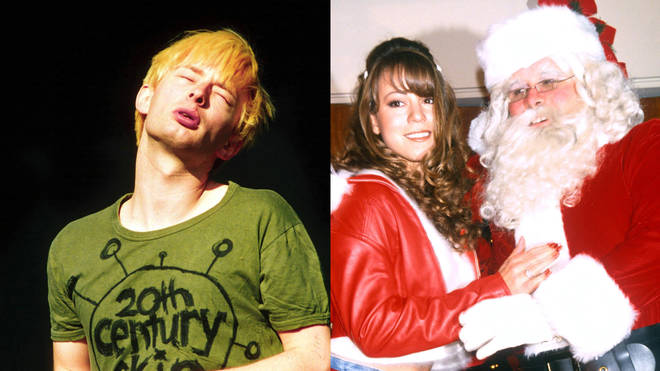 Radiohead's Thom Yorke meets Mariah Carey and Santa