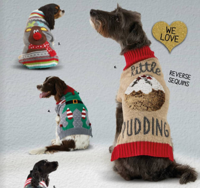 Pets at Home Christmas Jumpers for dogs 2019