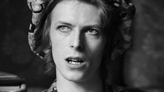David Bowie in early 1972