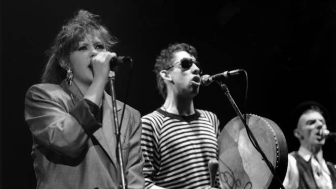 Kirsty MacColl and Shane Macgowan in 1987