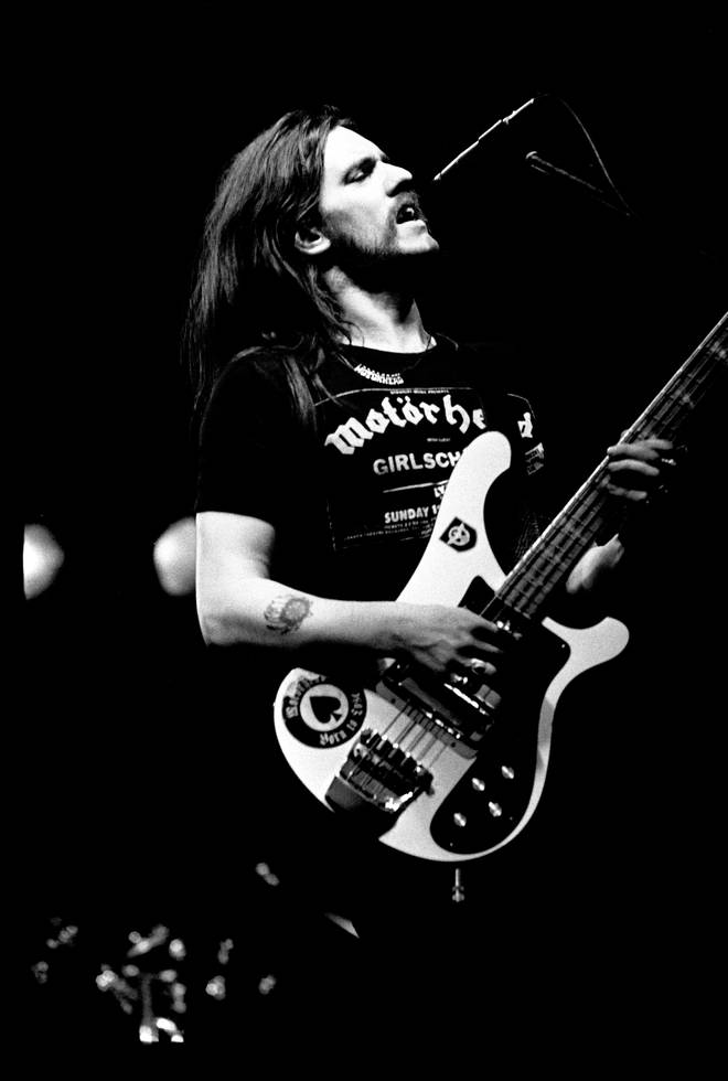 Lemmy onstage with Motorhead