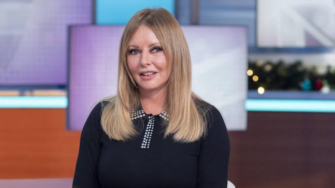 Carol Vorderman, December 2019