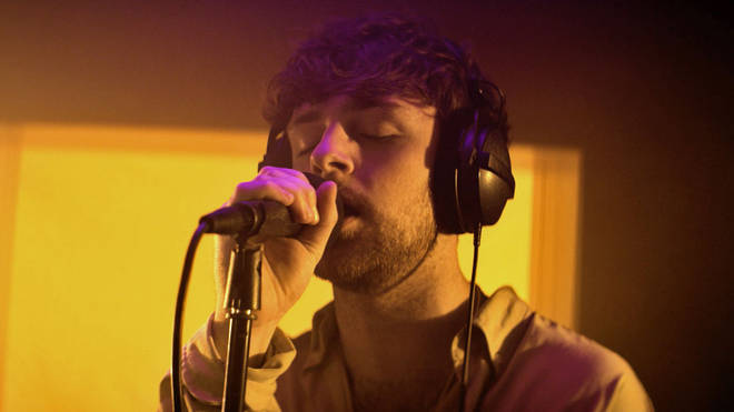 Tom Grennan in session