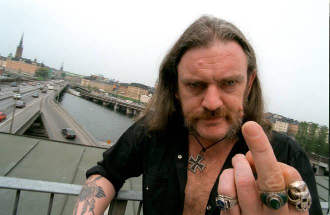 Lemmy in Stockholm in 1996