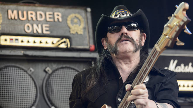 Lemmy onstage in Switzerland, 2013
