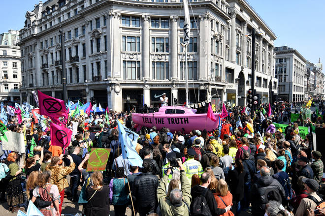 Extinction Rebellion Climate Protests