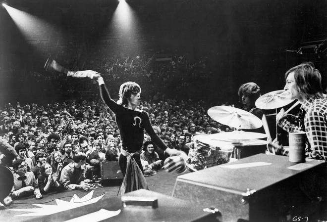 Rolling Stones Performing At Madison Square Garden, November 1969