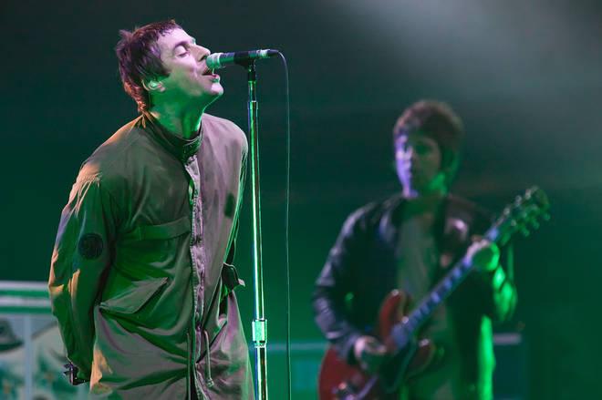Oasis perform live at the Melt! Festival in Ferropolis on July 19, 2009 i