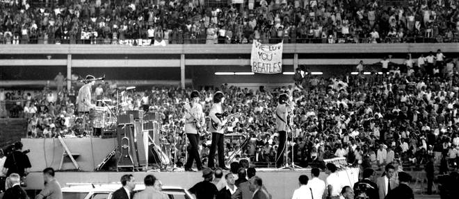 The Beatles at Shea Stadium, 16 August 1965