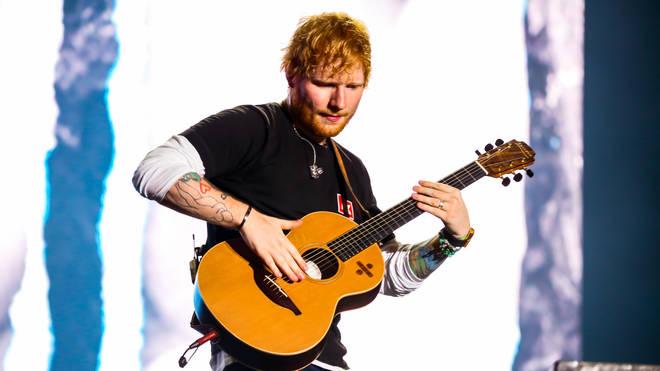 Ed Sheeran at Sziget Festival 2019