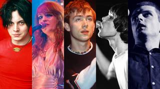 Jack White, Florence Welch, Damon albarn, Ian Brown, Ian Curtis