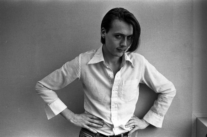 Suede singer Brett Anderson poses for a portrait, London 1993