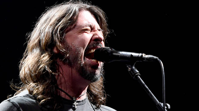 Dave Grohl of Foo Fighters performs at the Intersect music festival at the Las Vegas Festival Grounds on December 7, 2019