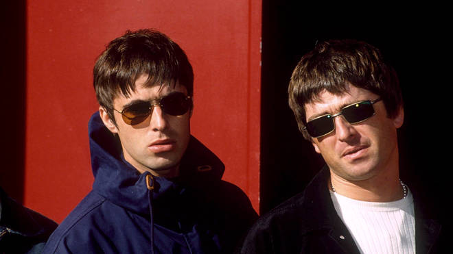 Liam And Noel Gallagher in September 1997