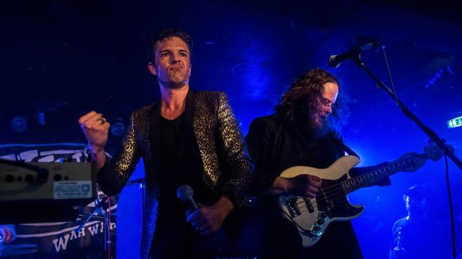 The Killers' Brandon Flowers at Glasgow's King Tut's Wah Wah Hut