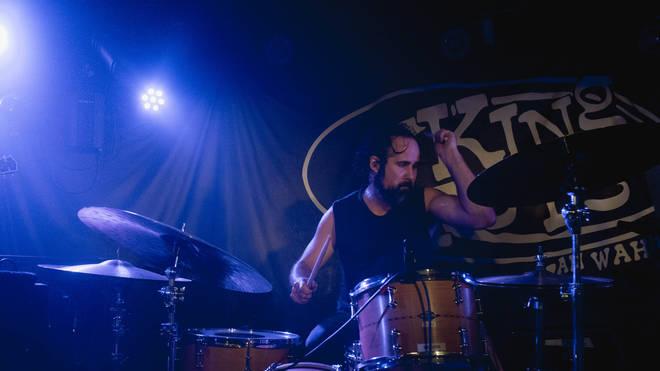 The Killers' Ronnie Vannucci Jr. at Glasgow's King Tut's Wah Wah Hut