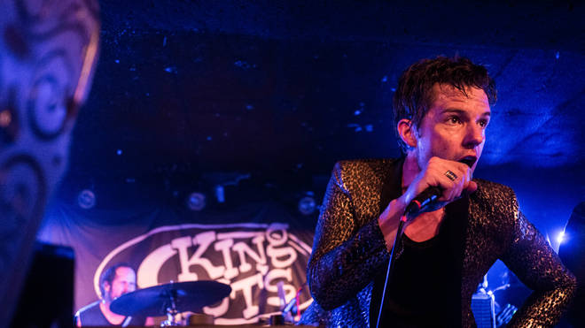 The Killers' Brandon Flowers at Glasgow's King Tut's Wah Wah Hut