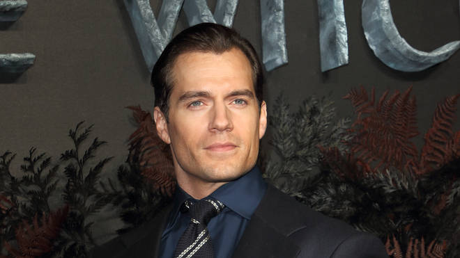Henry Cavill attends the world premiere of Netflix's The Witcher at the Vue Leicester Square in London.