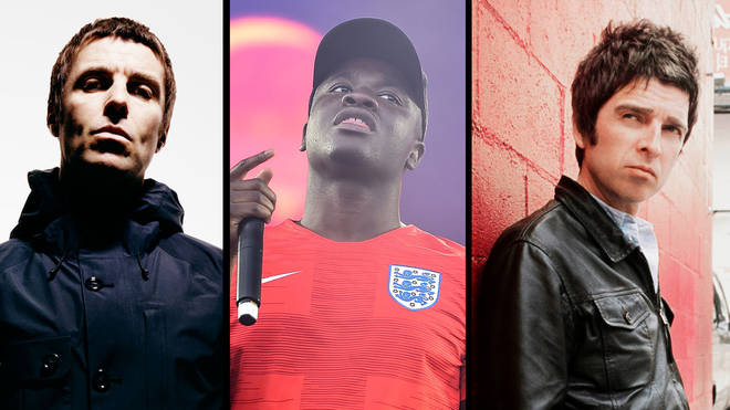 Liam Gallagher, Big Shaq, Noel Gallagher