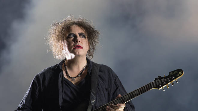 Robert Smith of The Cure performs onstage during weekend two, day two of Austin City Limits Music Festival at Zilker Park on October 04, 2019