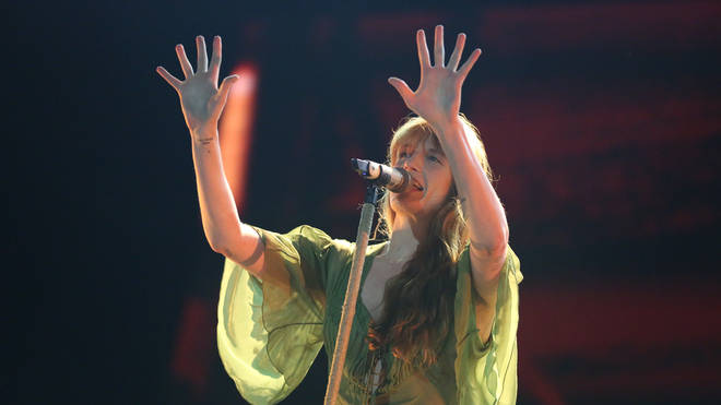 Florence and The Machine performs on main stage during Electric Picnic Music Festival 2019 at Stradbally Hall Estate on September 1, 2019