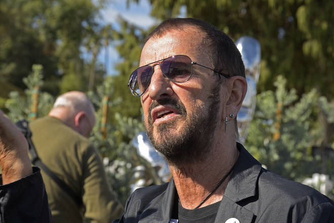 "Public Art Dedication For Ringo Starr&squot;s ""Peace And Love"", November 2019"