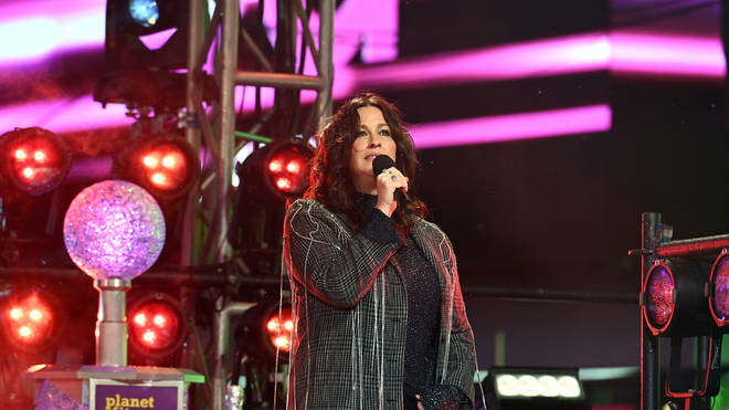 Alanis Morissette at Times Square New Year's Eve 2020 Celebration