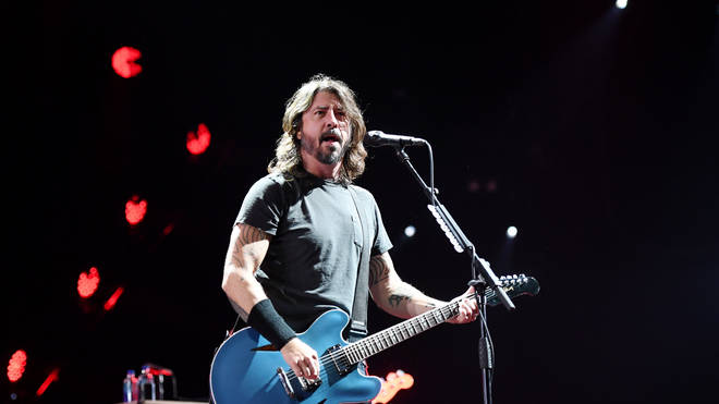 Foo Fighters frontman Dave Grohl at Intersect Music Festival 2019