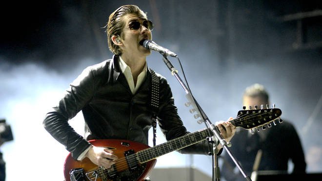 Alex Turner of Arctic Monkeys performs at the 2014 Voodoo Music + Arts Experience at New Orleans City Park on November 1, 2014