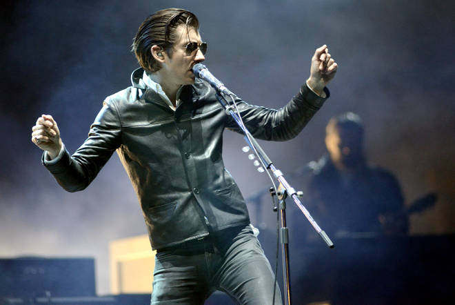 Alex Turner of Arctic Monkeys performs at the 2014 Voodoo Music + Arts Experience at New Orleans City Park on November 1, 2014 in New Orleans, Louisiana.