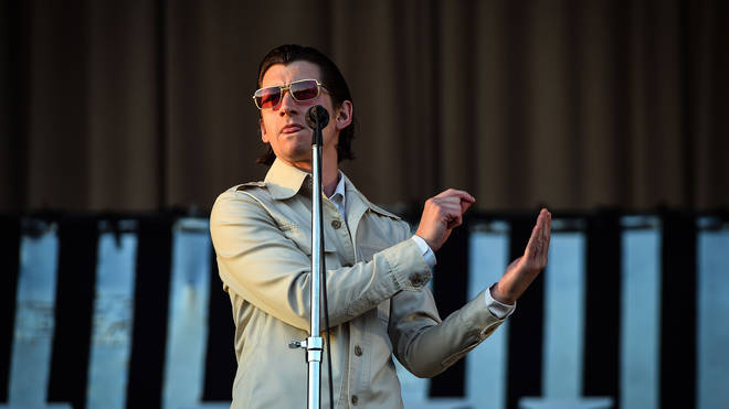 Arctic Monkeys play their headline set on the main stage during day 3 of the 2018 TRNSMT festival at Glasgow Green, Glasgow, July 1, 2018.