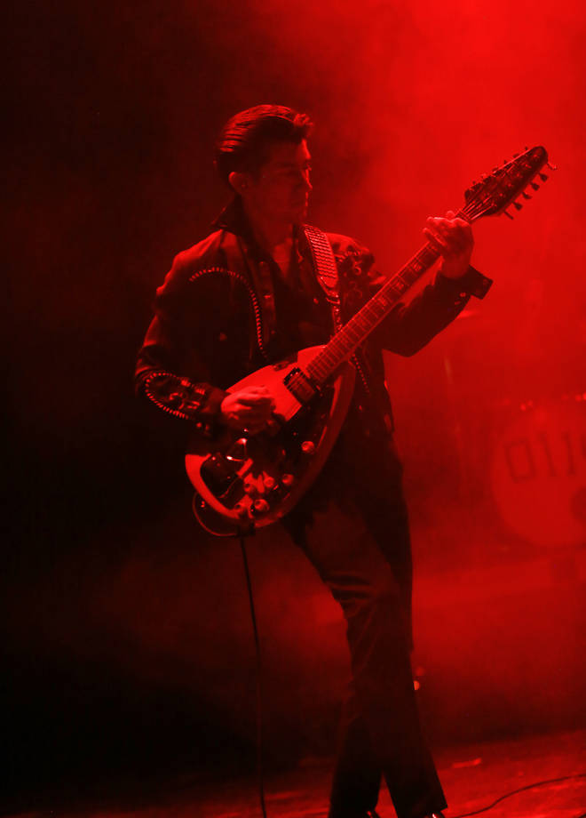Alex Turner performs at Arvest Bank Theatre at The Midland on December 14, 2013
