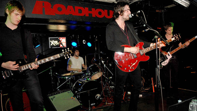 The Courteeners perform at The Roadhouse on October 22, 2007